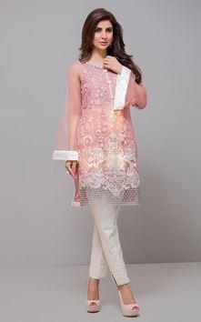 Zainab Chottani Latest Design Chiffon Dress