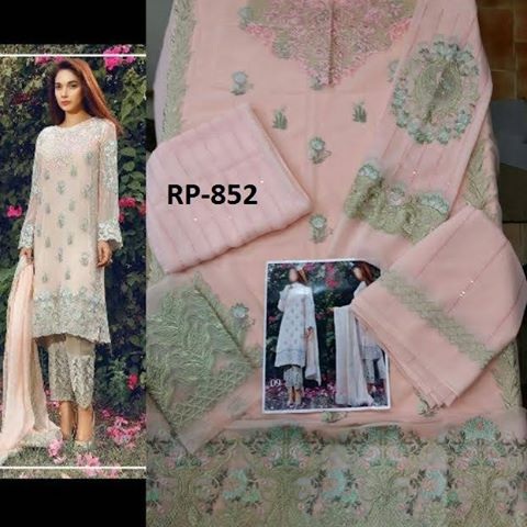 Eid UL Adha Chiffon Dress
