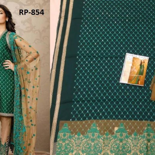 Eid UL Adha Designer Chiffon Dress