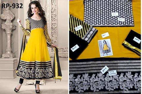 latest-indian-yellow-dress