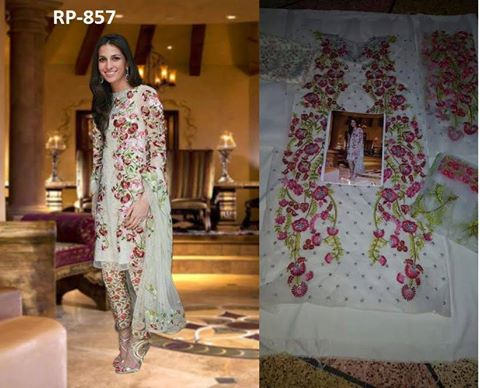 Sania Masqat Latest Dress