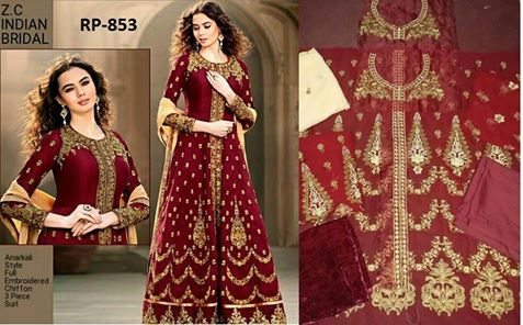 ZC Indian Bridal Frock