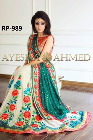 ayesha-ahmed-latest-saree