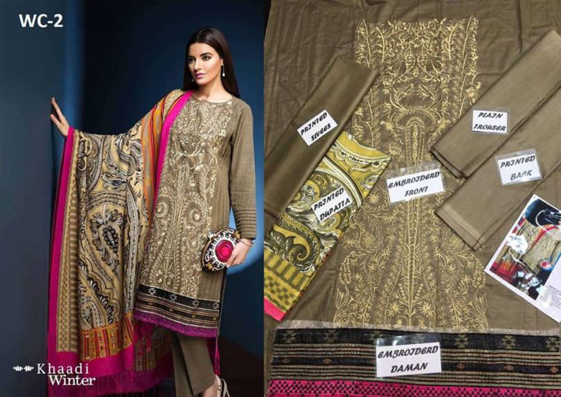 Khaadi New Winter Designs Collection