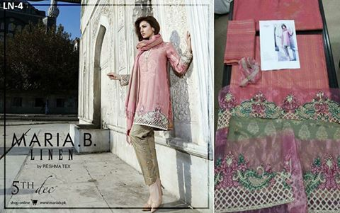 Maria B New Winter Collection Design