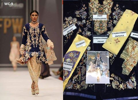 Nida Azwer Bridal Dresses 2016