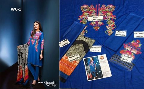 Winter Collection Khaadi Dress