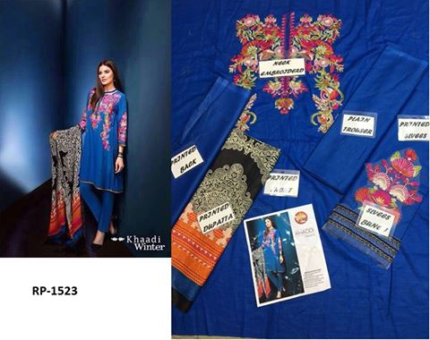 Khaadi winter collection 2017 available