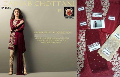 Zainab Chotani Luxury Pret Dress