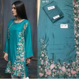 Areeba Saleem Embroidered Kurti