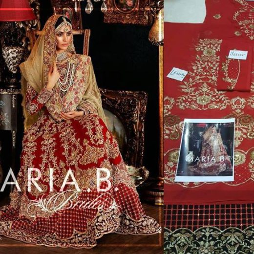Maria B Latest Bridal Collection 2017