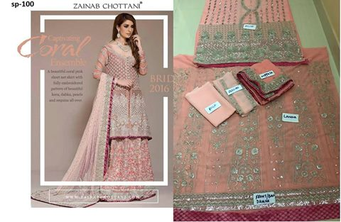 Zainab Chottani Bridal Collection 2017