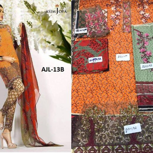 Asim Jofa Latest Summer Collection 2017