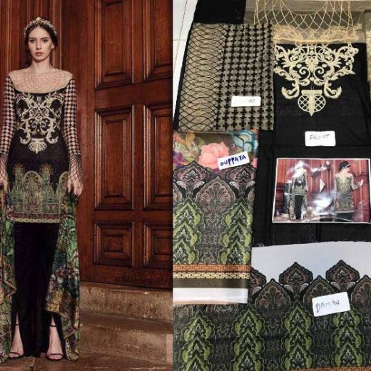 Tabbassum Mughal Lawn Collection 2017