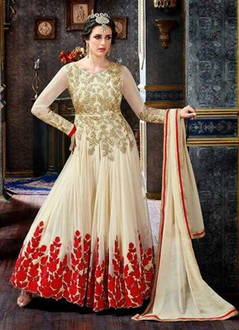 Indian embroidered Latest Frock 2017