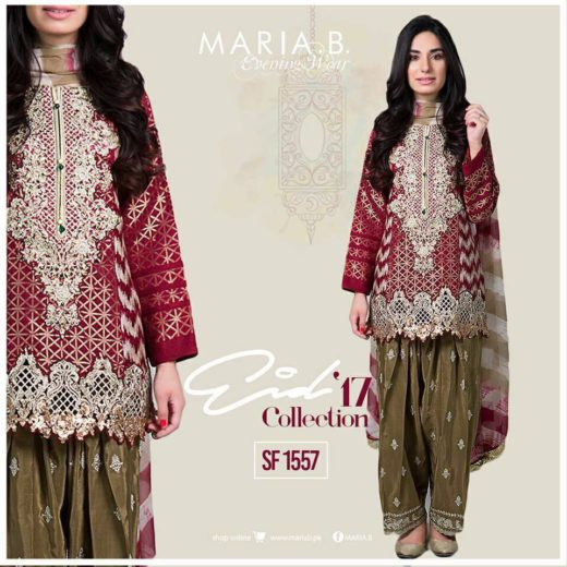 Maria b party wear dress 2017