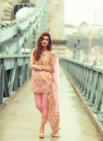 Mina Hassan Lawn Collection 2017