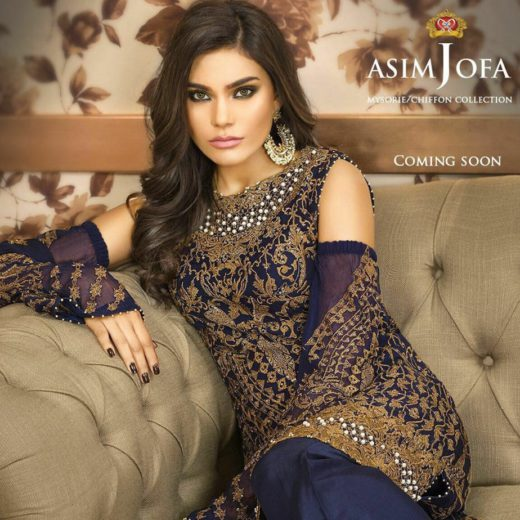 Asim Jofa Wedding wear Collection 2017