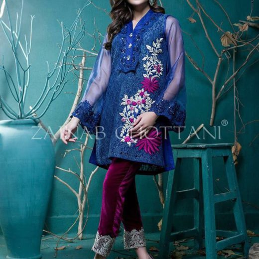 Zainab chottani made on chiffon