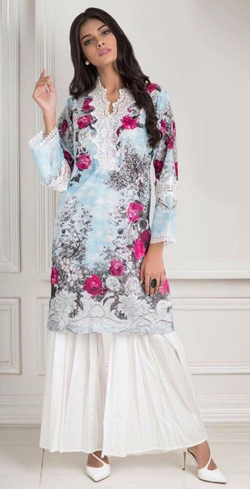 Agha Noor latest collection 2018