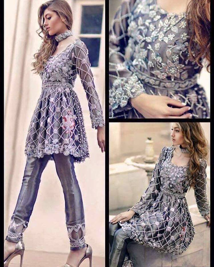 f2d14f51f78 Zainab Chottani Party Wear Collection 2018