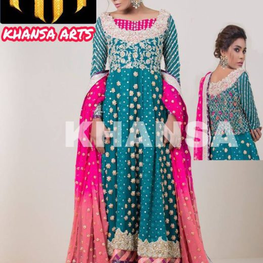 Zainab Chottani New Bridal Dress 2018