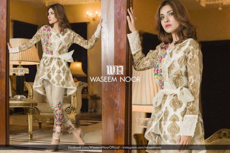 Waseem Noor Latest Dress 2018