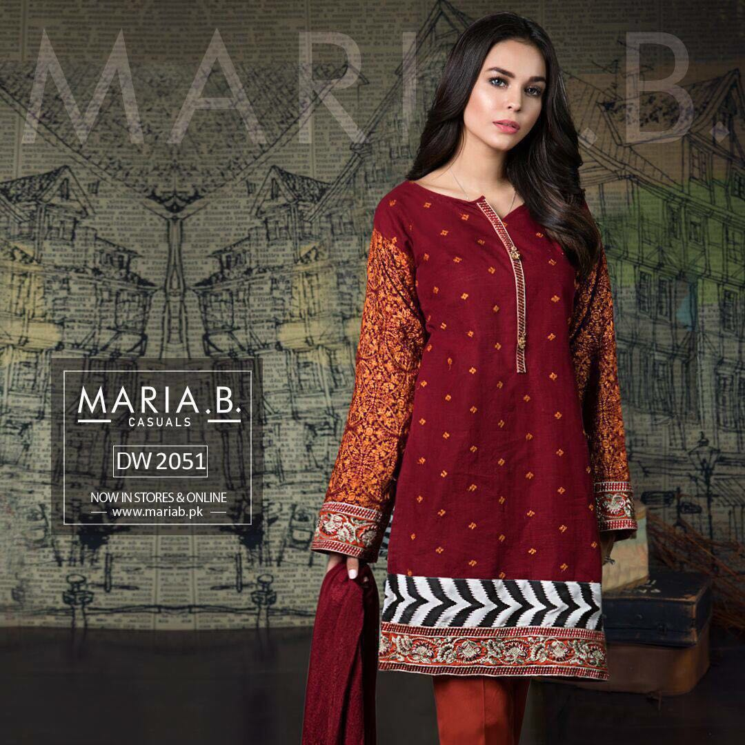 7b355f47723 Post navigation. Previous Product Next Product · Home   Shop   Casual Wear    Maria B Cotton Collection 2018