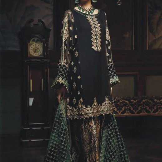 Aayra Chiffon Dress Collection 2018