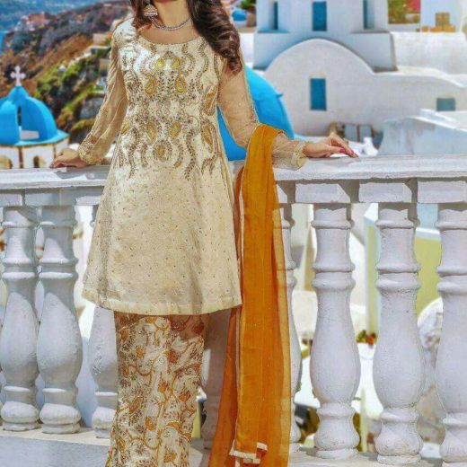 Mulaye Brand Latest Dress 2018