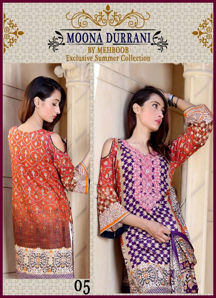 268369f33c Moona Durrani Lawn Collection 2018 | Pakistani Dresses Marketplace
