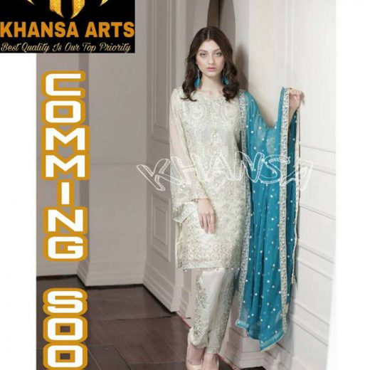 Khansa Arts Chiffon Collection 2018
