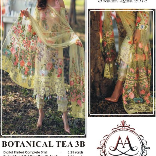 Rang Rasiya Lawn Emb Collection 2018