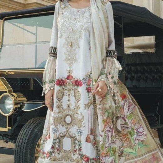 Maria B silk Dress 2018