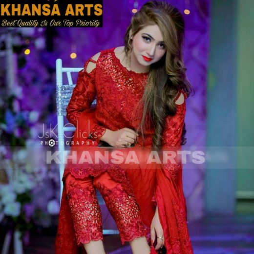 Khansa Arts New Chiffon Collection 2018
