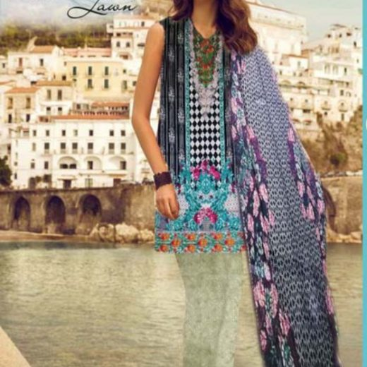 Sapphire Lawn Collection 2018