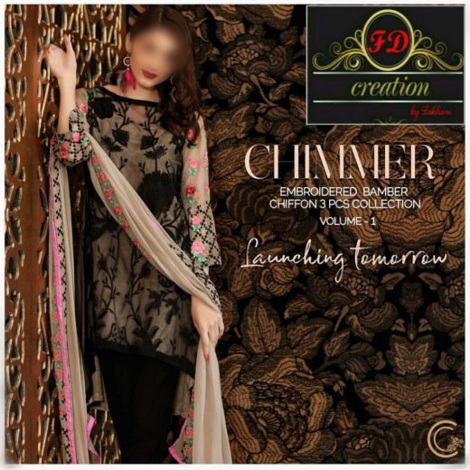 Charizma Chiffon Collection 2018
