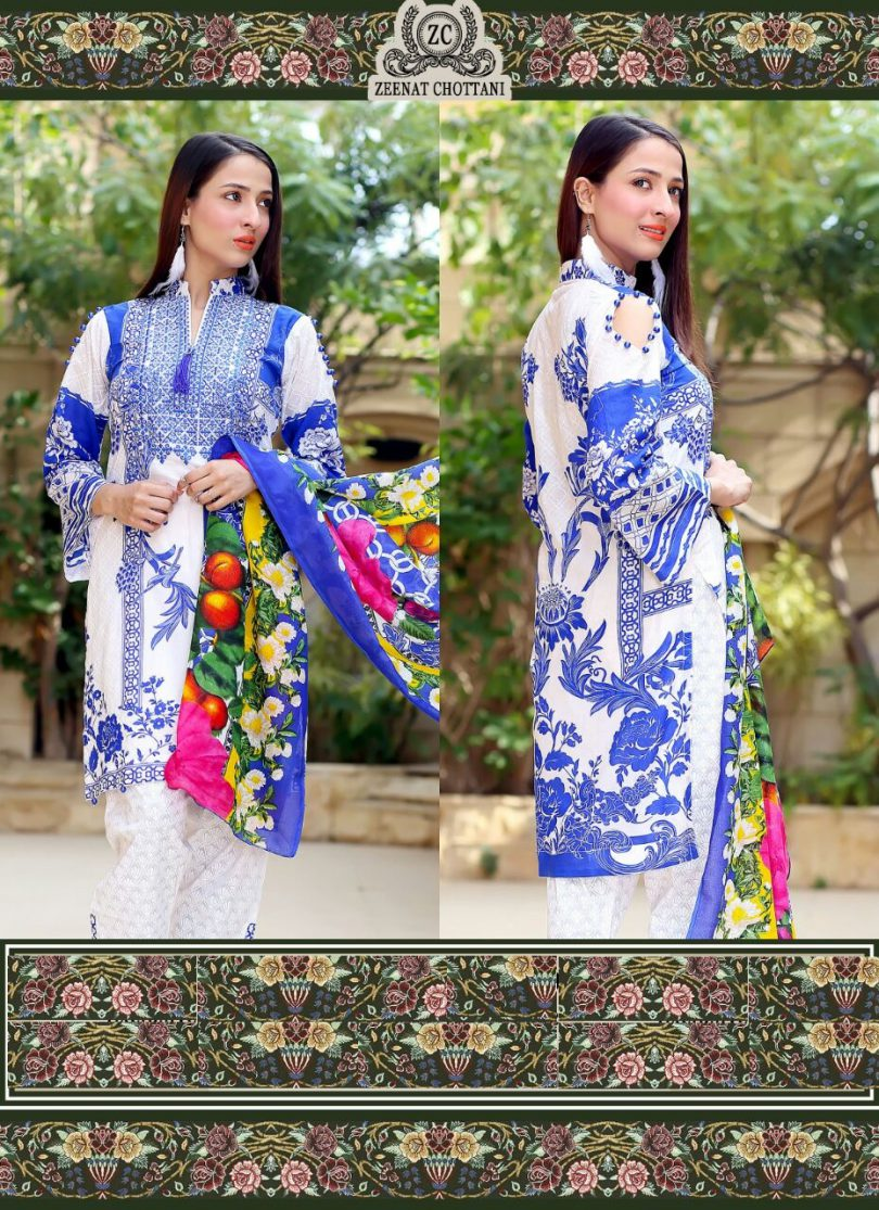 Zeenat Chottani Lawn Collection