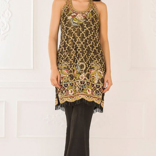 Teena Durani Party Were Chiffon Suit