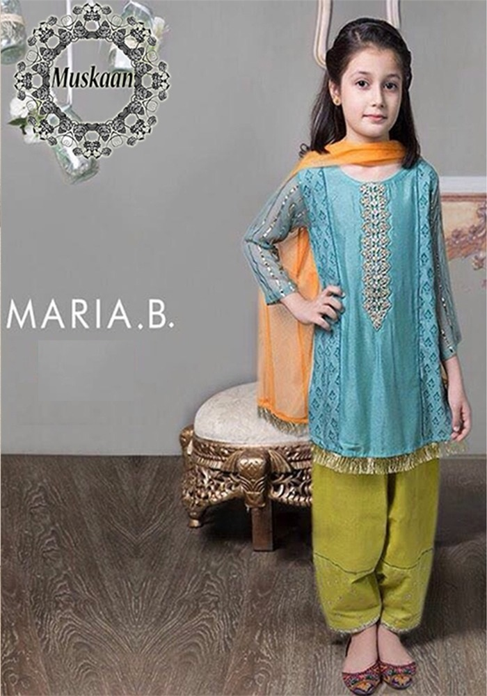 Maria B Lawn Kids Collection 2018 Pakistani Dresses