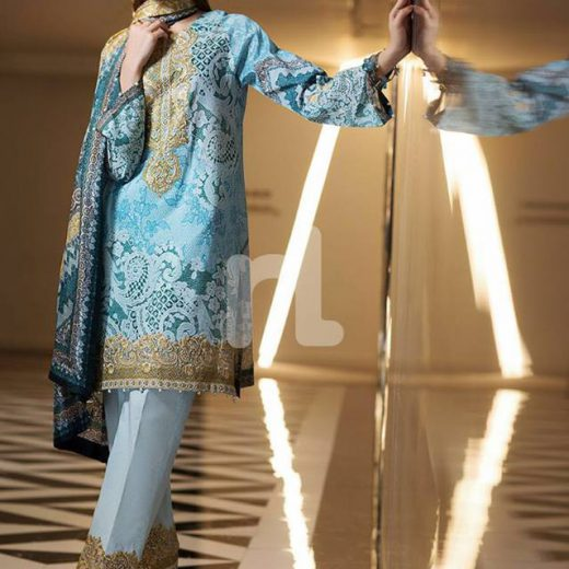 Nishat Lawn Collection 2018