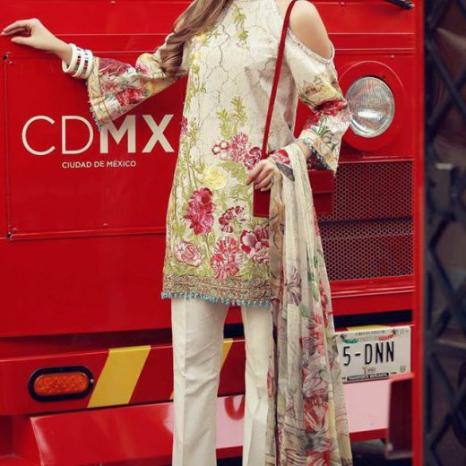 Rangraz Lawn Collection 2018