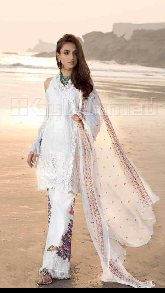 Gul Ahmed Net Collection 2018