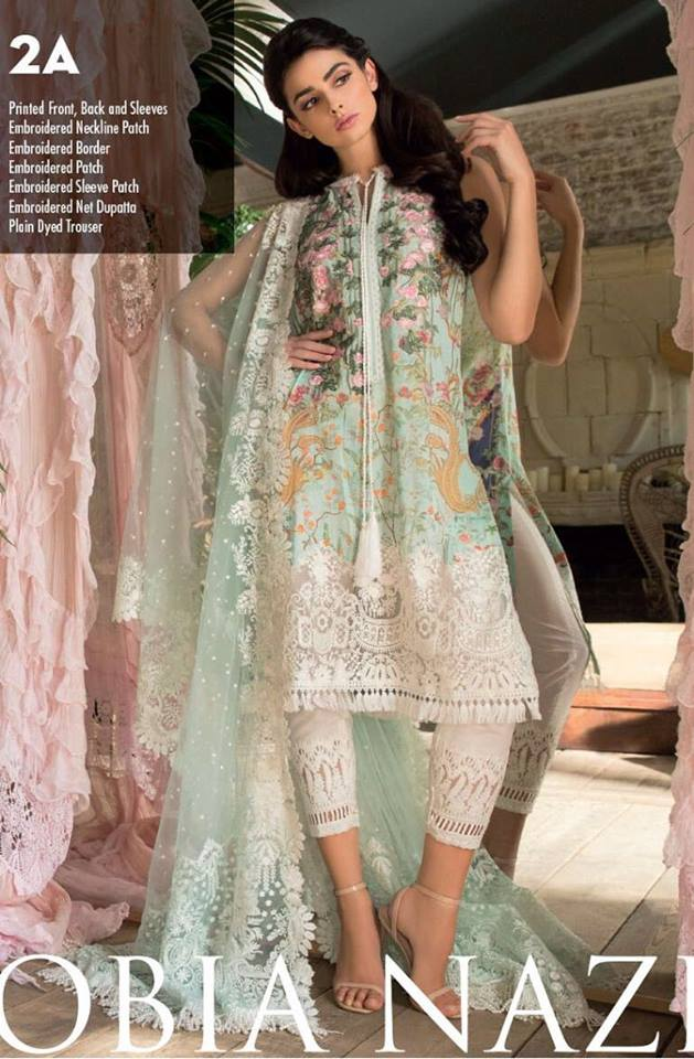 Sobia Nazeer Lawn Suit 2018
