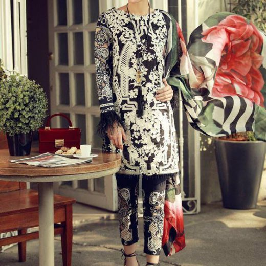 Sobia Nazeer Latest Lawn Suit 2018