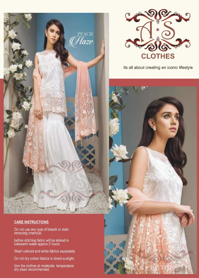 Asifa and Nabeel Lawn Collection 2018