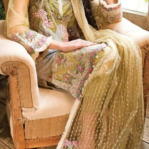 Sobia Nazeer Net and Swiss Lawn