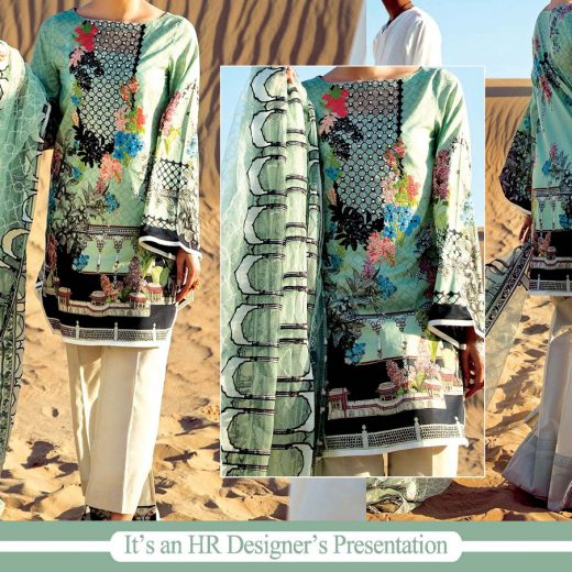 Cross Stitch Lawn Collection 2018