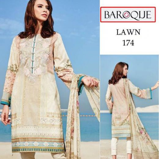 Barooque Lawn Collecion 2018