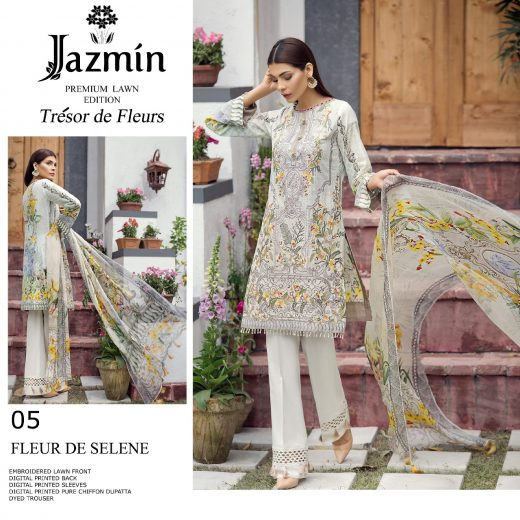 2aaed2bde Baroque Jazmin Lawn Suits 2018 Archives